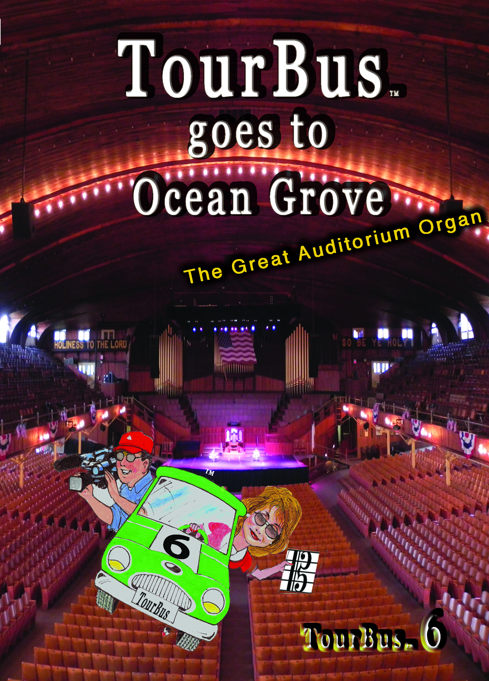 The great Auditorium Organ in                                   Ocean Grove