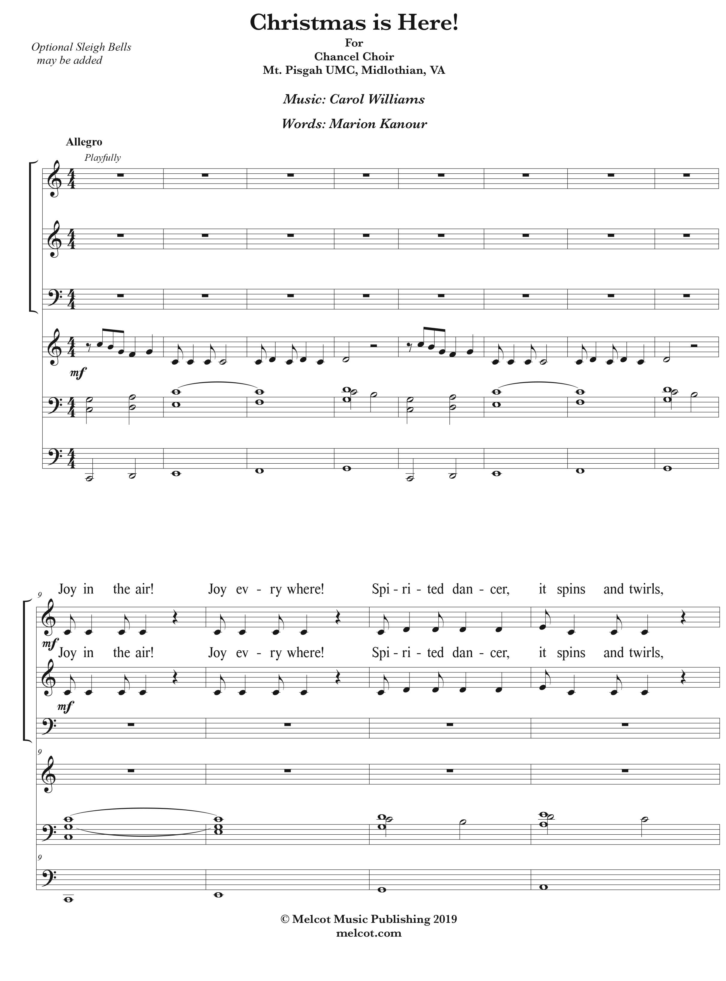 for Choir