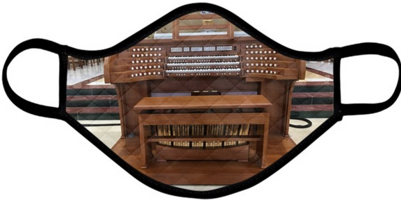 Organ console face mask