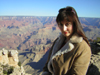 Carol Williams at the Grand Canyon