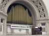 Carol                                   Williams at the Spreckels Organ